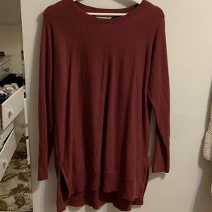 Maroon Athleta sweater